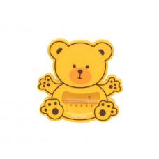 Термометр для води «Ведмедик» Baby team, 0+, арт. 7302 (жовтий)
