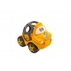 """Игрушка-погремушка """"Машинка"""", в ассортименте Baby team, 6+, арт. 8406 (черный кузов)"""