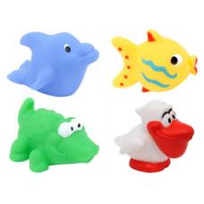 Игрушка для ванны Baby team, 10+, арт. 9015 (ПОВРЕЖДЕННАЯ УПАКОВКА)