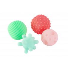 """Набор игрушек для ванны """"Мячики"""", 4 шт. Baby team, 6+, арт. 9024"""