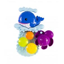 "Набор игрушек для ванны ""Водопад"" Baby team, 9+, арт. 9025"
