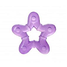 Прорезыватель с гелем Baby team, 4+, арт. 4005 (фиолетовая звездочка)