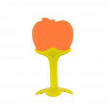 """Прорезыватель силиконовый """"Фруктовое дерево"""" Baby team, 4+, арт. 4016 (Яблоко)"""