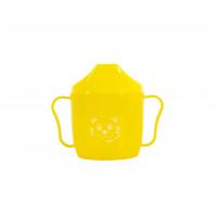 Поильник со спаутом Baby team, 180мл, 6+, арт. 5007 (желтый)
