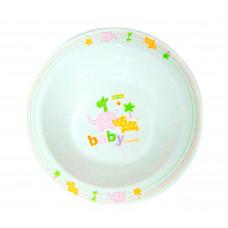 Тарелка детская Baby team, 200 мл., 4+, арт.6005