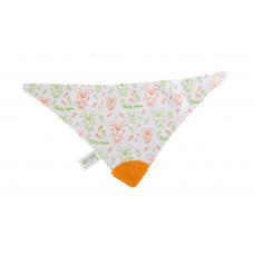 Нагрудник-треугольник на липучке с прорезователем Baby team, 4+, арт. 6508