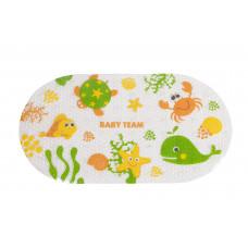 Килимок для ванни Baby team, 0+, арт. 7415