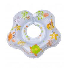 Круг надувной для купания малышей Baby team, 0+, арт. 7450 (ПОВРЕЖДЕННАЯ УПАКОВКА)