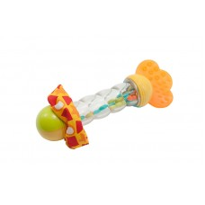 """Игрушка-погремушка """"Волшебная палочка"""" Baby team, 3+, арт. 8445  (ПОВРЕЖДЕННАЯ УПАКОВКА)"""