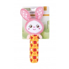 Іграшка з пищалкою Baby team, 4+, арт. 8500 (Зайчик)