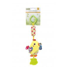 Игрушка-подвеска с прорезователем Baby team, 4+, арт. 8520 (ЦЫПЛЕНОК)