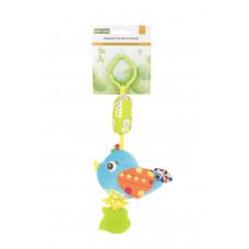 Игрушка-подвеска с прорезователем Baby team, 4+, арт. 8520 (Птичка)