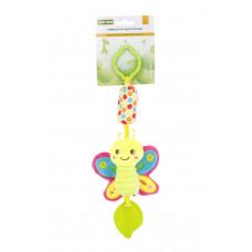 Игрушка-подвеска с прорезователем Baby team, 4+, арт. 8520 (Бабочка)