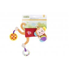 Мягкая игрушка на кроватку/коляску Baby team, 4+, арт. 8532 (обезьянка)