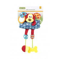 Мягкая игрушка на кроватку/коляску Baby team, 4+, арт. 8532 (СОБАЧКА)