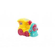 "Игрушка ""Транспорт"" Baby team, 6+, арт. 8620 (паровозик желтый)"