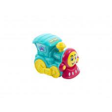 """Игрушка """"Транспорт"""" Baby team, 6+, арт. 8620 (паровозик бирюзовый)"""
