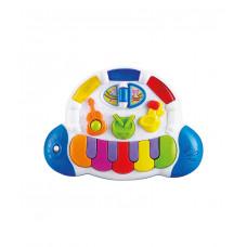 """Игрушка музыкальная """"Пианино"""" Baby team, 12+, арт. 8635 (ПОВРЕЖДЕННАЯ УПАКОВКА)"""