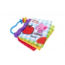 Игрушка-книжка текстильная Baby team, 9+, арт. 8720
