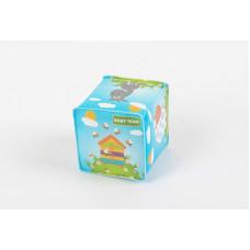 """Іграшка для ванни """"М'який кубик"""" Baby team, 6+, арт. 8741"""