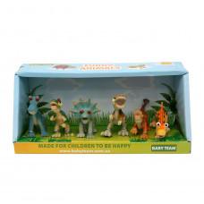 """Набір іграшок-фігурок """"Динозаври"""" 6 шт, Baby team, 36+, арт. 8832"""