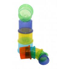 """Іграшка """"Диво-пірамідка"""", 9 стаканчиків Baby team, 12+, арт. 8850"""