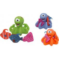 """Набор игрушек для ванны """"Подводный мир"""" Baby team, 10+, арт. 9005 (УЦЕНКА)"""