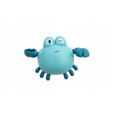 "Игрушка для ванны ""Краб"" Baby team, 6+, арт. 9040 (голубой)"