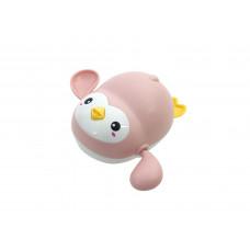"""Игрушка для ванны """"Пингвин"""" Baby team, 6+, арт. 9042 (розовый)"""